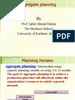 Aggregate Planning Iqbal KU