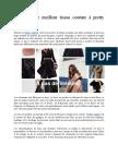 Choisissez Le Meilleur Tissus Couture à Pretty Mercerie