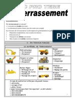 Leçon & Exercice - Le Terrassement.pdf
