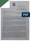 Carta del sindicato Banchile a Luksic