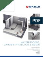 RFA-TECH Waterproofing Brochure
