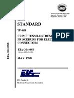 EIA-364-08b-05-98 - CRIMP TENSILE STRENGTH TEST PR OCEDURE FOR ELECTRICAL CONNECTORSpdf.pdf