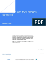 Google App Marketing Travel Consumer Journey