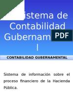 El Sistema de Contabilidad Gubernamental