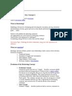 Marketing-Strategies and Consumer Behaviour