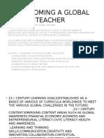 On Becoming a Global Teacher 2