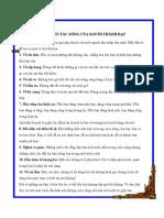 11 Nguyên Tắc Sống Của Người Thành Đạt