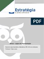 Aula Bônus - Lógica de Argumentação.pdf