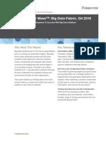 20161124 Forrester Big Data Q4 2016