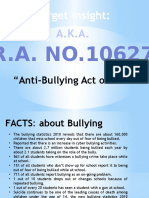 Seminar on Bullying for Teachers