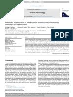 Automatic Identification of Wind Turbine Models Using Evolutionary Multiobjective Algorithm - La Calva