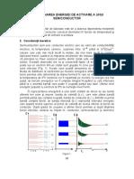 L2-Determinarea Energiei de Activare a Unui Semiconductor