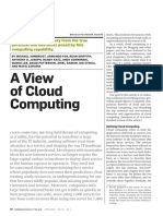 Artigo_01 - View of Cloud Computing