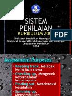 PENILAIAN KURIKULUM 2004
