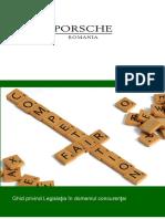 Ghidul Porsche Romania Privind Legisla Ia n Domeniul Concuren Ei