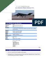 F-117 Night Hawk