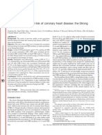 Dietary Fat Intake and Risk of Coronary Heart Disease the Strong Heart Study