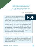 Efetividade Dos Programas de Intervenção de E-Saúde Em Adolescentes Obesos Revisão Sistemática Da Literatura