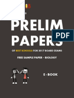 Exam18 Biology Sample Prelim Paper