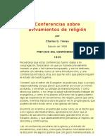 Conferencias sobre avivamientos de religión