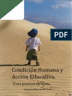 Condicion Humana y Acción Educativa