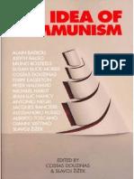 Zizek-The Idea of Communism