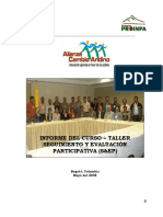 Informe Taller S EP Colombia