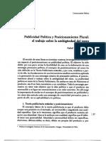 DELVILLAR Publicidad.política-Pulsión