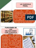 La Clausula Penal