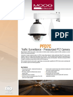 Traffic Surveillance - Pressurized PTZ Camera