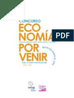 Convocatoria Concurso Economia Por Venir