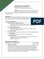 assignment  - resume  sam application 1