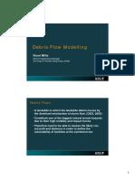 Debris Flow Modelling