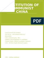 Constitution of Communist China