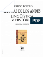 Alfredo Torero F. de C. Idiomas de Los Andes (Sección)