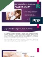 Lactancia Nutrición y Salud Bioquímica