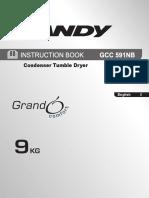 31100560 GCC 591NB-80 1L_tumble Dryer