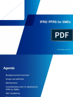 PFRS for SMEs - Baseline 2013