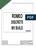 Romeo DIS EV145I 6050A2316601-MB-A03 MV 0420
