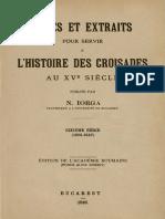 Nicolae Iorga - Notes et extraits pour servir à l'histoire des croisades au XVe siècle. Volumul 6 (1501-1547).pdf