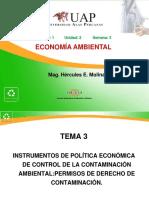 3 Permisos de Derechos de Contaminación