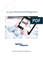 Steam System Management-Six Sigma-Spirax Sarco