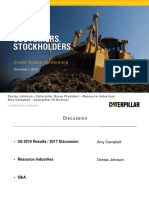 Caterpillar Presentation at Credit Suisse Investor Conference 2016