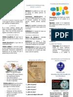 Brochur de La Poesia