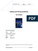 Cabling Wiring Guidelines Cranes