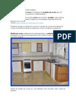 Diseño de Muebles de Cocina