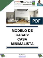 Modelo de Casas - Casa Minimalista