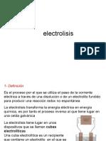 Clase 5.- Electrólisis