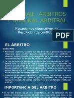 MARCs - Arbitraje y Tribunal Arbitral