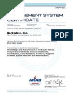 Barksdale Iso9k Certificate 2 2016